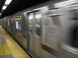 NYC Subway 6 Train