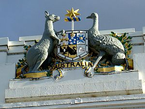 Coat of arms of the Commonwealth of Australia ...