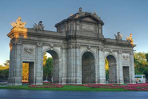 """Puerta de Alcalá (""""Alcalá Gate"""") in ..."""