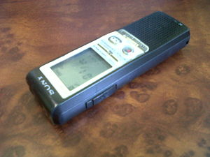 My Sony digital recorder