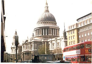 English: St. Paul's, London. One of Sir Christ...