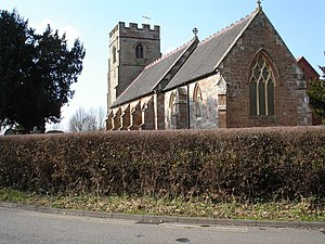 English: St Peters Church , Ipsley, Redditch.