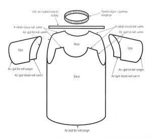 T-shirt without side-seam