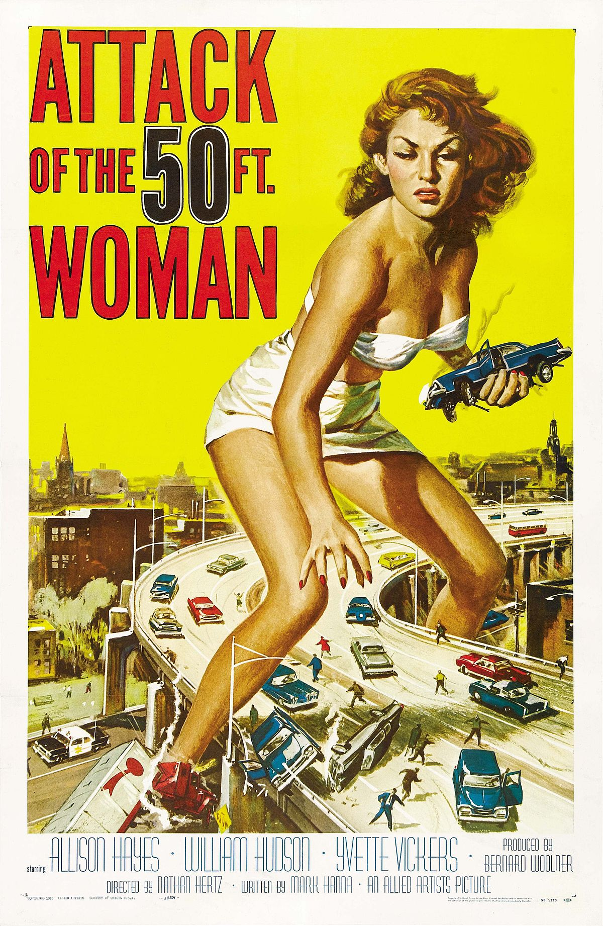 Image result for attack 50 foot woman