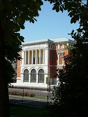 Español: Casón del Buen Retiro, Madrid.