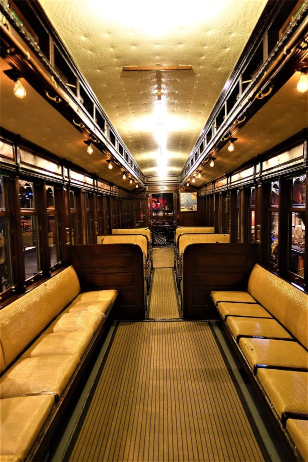 Chicago L System South Side Railroad Car 1 - Joy of Museums - Chicago History Museum - 1
