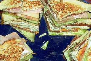 Club Sandwich. I took this picture on May 19, ...