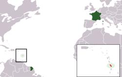 Τοποθεσία της χώρας στον κόσμο