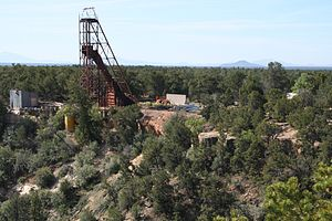Closed Orphan Mine, on the South Rim of Grand ...