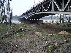English: Średnicowy Bridge in Warsaw Polski: M...