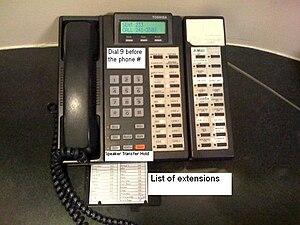 Phone at MKW.