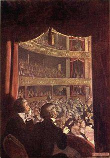 The theater scene