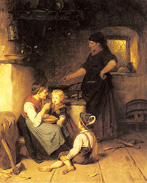 Rudolf Epp Feeding the baby