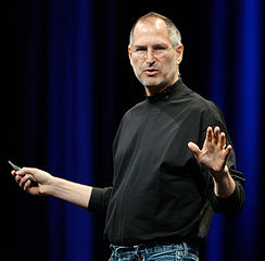Steve Jobs courtesy Wikipedia