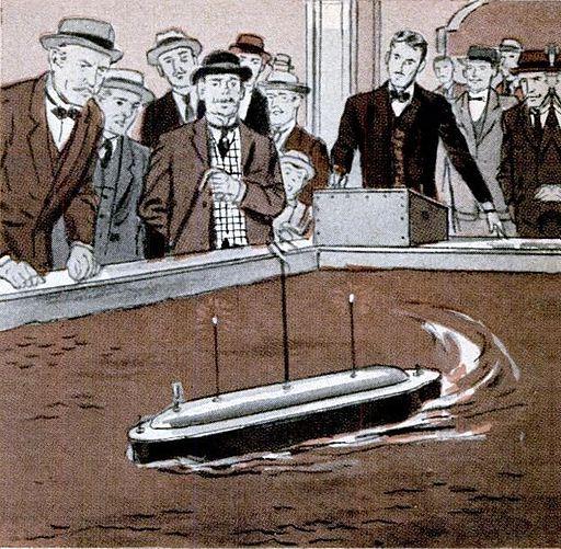 Tesla boat
