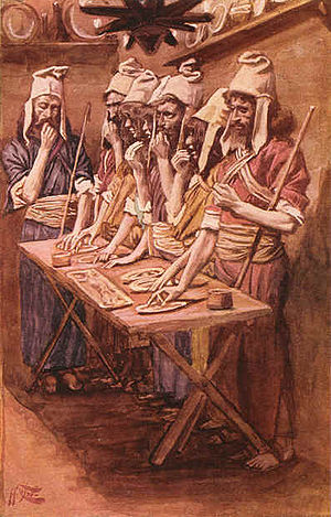 English: The Jews' Passover, by James Tissot (...
