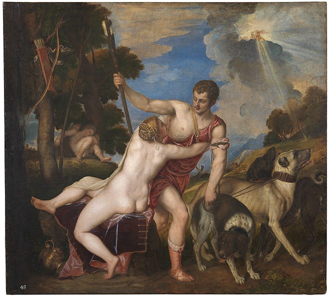 File:Venus and Adonis by Titian.jpg