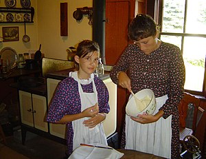 WPV 19th Century cooking