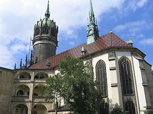All Saints' Church in Wittenberg, Germany