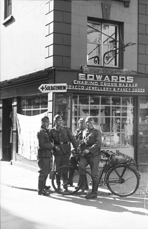 German soldiers in Jersey.