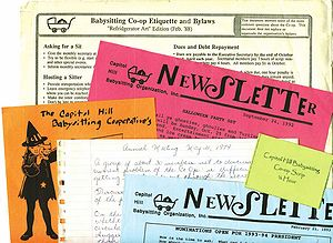 English: Papers from the Capitol Hill Baby-Sit...