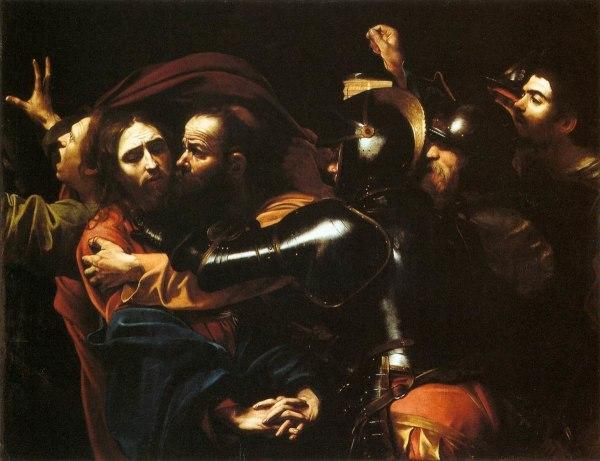 Поцелуй Иуды картина Караваджо Википедия