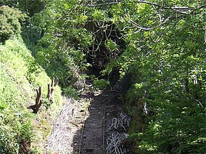 English: Cheadle Branch Railway The Cheadle Ra...