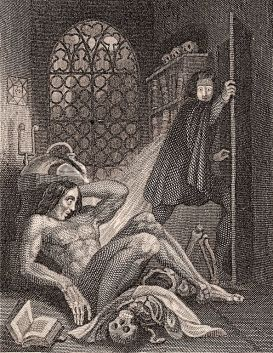 Image result for frankenstein frontispiece