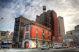 This is the Firehouse that was used for the ex...