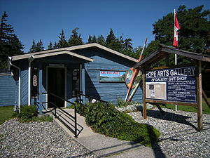 Hope Arts Gallery, Hope, British Columbia.