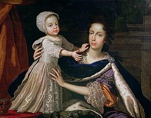 English: Mary Beatrice d'Este, Queen of James ...