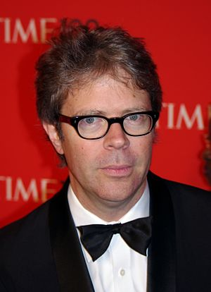 English: Jonathan Franzen at the 2011 Time 100...
