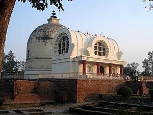 The Parinirvana Temple with the Parinirvana St...