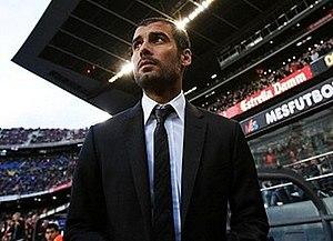Manager Josep Guardiola