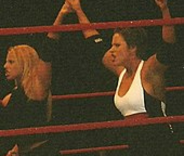 Stratus Left Along With Molly Holly During A Wwe House Show In October