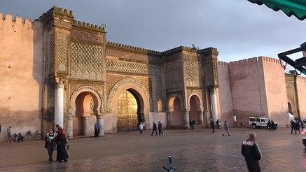 Porte bah Mansour Meknès.morocco