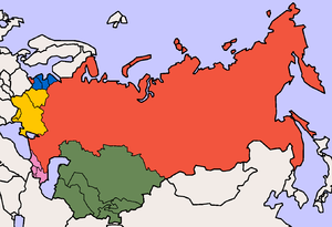 Common groupings of the post-Soviet states: Ru...