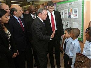 New York City Schools Chancellor Joel Klein, N...