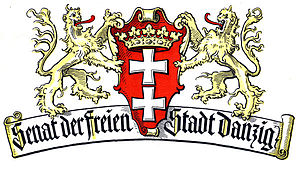 English: Coat of arms of Senate of the Free Ci...