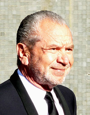 Sir Alan Sugar at the AFTA awards 2009