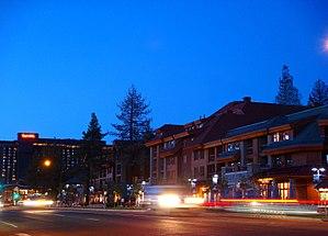 "South Lake Tahoe near ""Heavenly Village"""