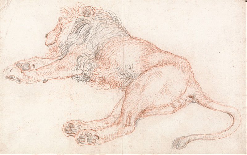 File:Study of a Lion, Resting - Google Art Project.jpg