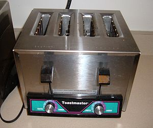 Toastmaster industrial-grade toaster, capable ...