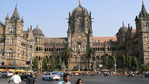 Victoria Terminus Railway Station, Mumbai, India