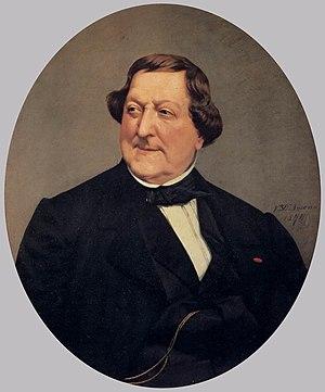 Portrait of Gioacchino Rossini