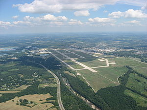 Most of Wright-Patterson Air Force Base is loc...