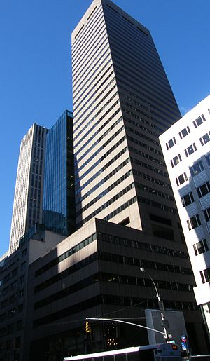 English: 650 Fifth Avenue in New York City