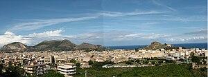 Panorama of Bagheria