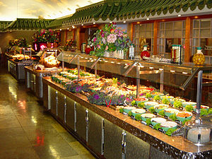 English: Mandarin Restaurant Buffet