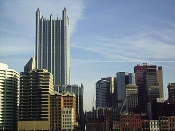 English: Downtown Pittsburgh